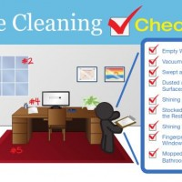 Office Cleaning Check List